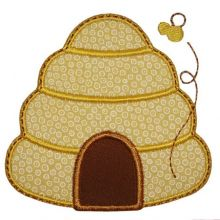 Beehive Applique Where The Fairy Tale Begins Custom